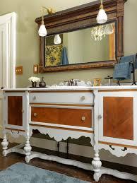 Pics Of Bathroom Vanities Repurpose A Dresser Into A Bathroom Vanity How Tos Diy