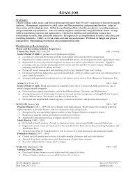 Audition Resume Sample Plush Design Ideas Resume Examples 2014 10 Professional Template