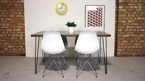 Hairpin Leg Dining Table Zinc Top Hairpin Leg Dining Table