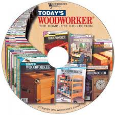 Canadian Woodworking Magazine Pdf by Today U0027s Woodworker Complete Collection Computer Disc From