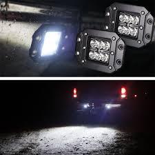 jeep light bar at night led pods ebay