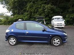 blue peugeot for sale used 2000 peugeot 206 gf t16 for sale bf146835 be forward