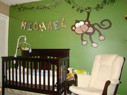 safari decorations baby nursery baby room decoration with black wooden crib and white