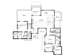 single story house plan outstanding one story modern house plans contemporary ideas