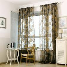 rideaux fenetre cuisine banane feuilles fenêtre cuisine salle de bains rideau porte diviseur