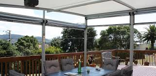 award winning glidetrak patio blinds auckland fresco shades