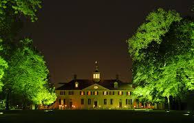 Halloween Lights On House Trick Or Treating At Mount Vernon George Washington U0027s Mount Vernon