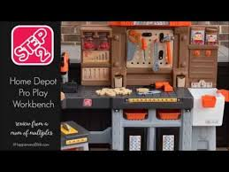 Kids Tool Bench Home Depot Step2 Home Depot Pro Play Workshop U0026 Utility Bench Review By It