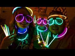 glow party glow stick party