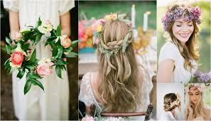 Wedding Wreaths 20 Floral Bridal Crowns U0026 Flower Wreaths Trendy Tuesday