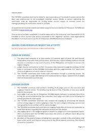Sample Resume In The Philippines by Jci Philippines Tofarm Awards Manual