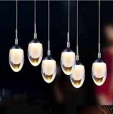 Hanging Lights For Dining Room Aliexpress Com Buy Modern Acrylic Pendant Lamp Led Dining Room