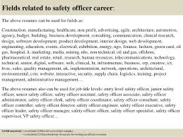 Example Of A Professional Resume For A Job by Top 5 Safety Officer Cover Letter Samples