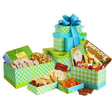 Gift Towers Gift Towers From Myfastbasket Com Gourmet Gifts Gourmet Gift