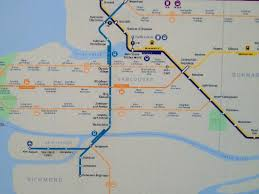 vancouver skytrain map map to downtown picture of skytrain vancouver tripadvisor
