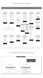 sitemap ux workflow wireframe and sitemap creator by sargatal2