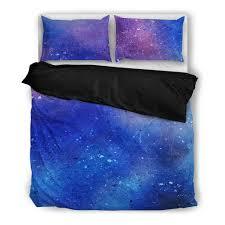 Galaxy Bed Set Watercolor Galaxy Bedding Set Iamsofancy