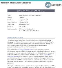 dietitian cover letter nutritionist description best resumes