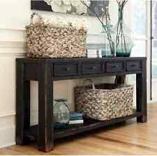 Storage Behind Sofa Living Room Cottage Console Tables Ebay