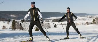 cross country skiing skating style classic style montagnes