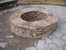 Fire Pit Kit Stone by Stone Fire Pit Kit Pros And Cons House Interior Design Ideas