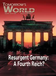 German Flag Meaning Resurgent Germany A Fourth Reich Tomorrow U0027s World