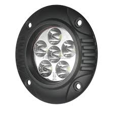 flush mount led lights 12v totron 4 circular led fog light flush mount t1418fm hid kit pros