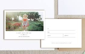 photographer gift card templates photoshop template holiday