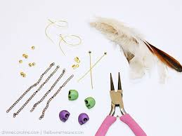 how to make feather earrings jewelry diy how to make feather earrings more