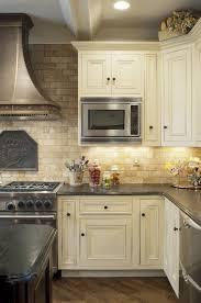 kitchen backsplash travertine mediterranean kitchen design travertine tile backsplash white
