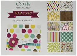 boxed cards boxed cards and envelopes marvelous by american crafts