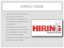 Renting A Commercial Kitchen by Tips To Hire A Commercial Kitchen