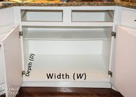 pull out drawers in kitchen cabinets diy slide out shelves tutorial the navage patch
