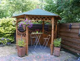 Lattice Pergola Roof by Curved Lattice Gazebo 2 9m Diameter