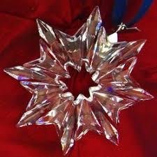 buy past or retired annual swarovski snowflake ornaments