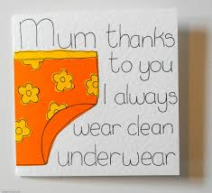 mothers day card mum funny birthday card gree folksy