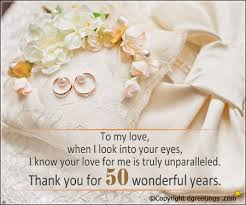 50th anniversary quotes 50th wedding anniversary quotes dgreetings