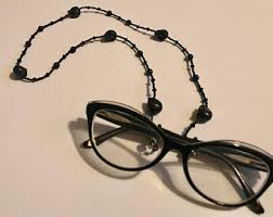 black friday eyeglasses glasses chain etsy