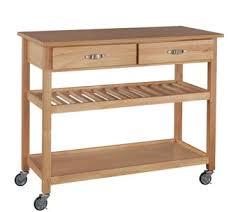 oasis island kitchen cart kitchen carts storage organization kitchen food qvc