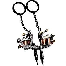 mini design metal tattoo machine keychain key chain ring u2013 tattoo