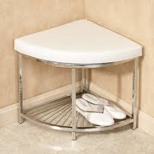 Upholstered Vanity Chairs For Bathroom by Olivier Upholstered Corner Vanity Stool