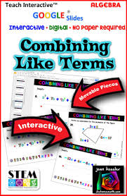 best 25 combining like terms ideas on pinterest solving
