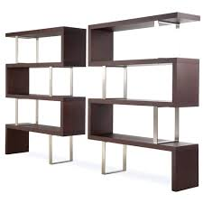 sauder 5 shelf leaning bookcase in jamocha wood decorate floating