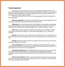 job proposal sample resume name
