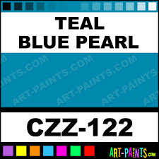 teal blue pearl carizzmatics airbrush spray paints czz 122