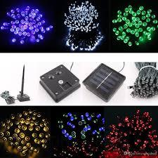 solar power led lights 100 bulb string led lights outdoor attractive solar powered 100 200 leds