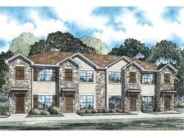 Multi Family House Plans Triplex Page 4 Of 4 Multi Family House Plans Triplexes U0026 Townhouses