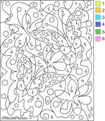 amazing color number coloring pages adults coloring