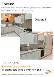ex display kitchen island for sale richmond sale up to 70 off showroom kitchens
