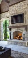 Stacked Stone Around Fireplace by Best 25 Stone Fireplaces Ideas On Pinterest Fireplace Mantle